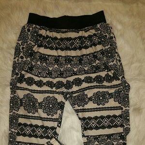 "Pants - ☇SALE 2/$30! 🆕 ""FLOWA POWA"" JOGGER PANTS"